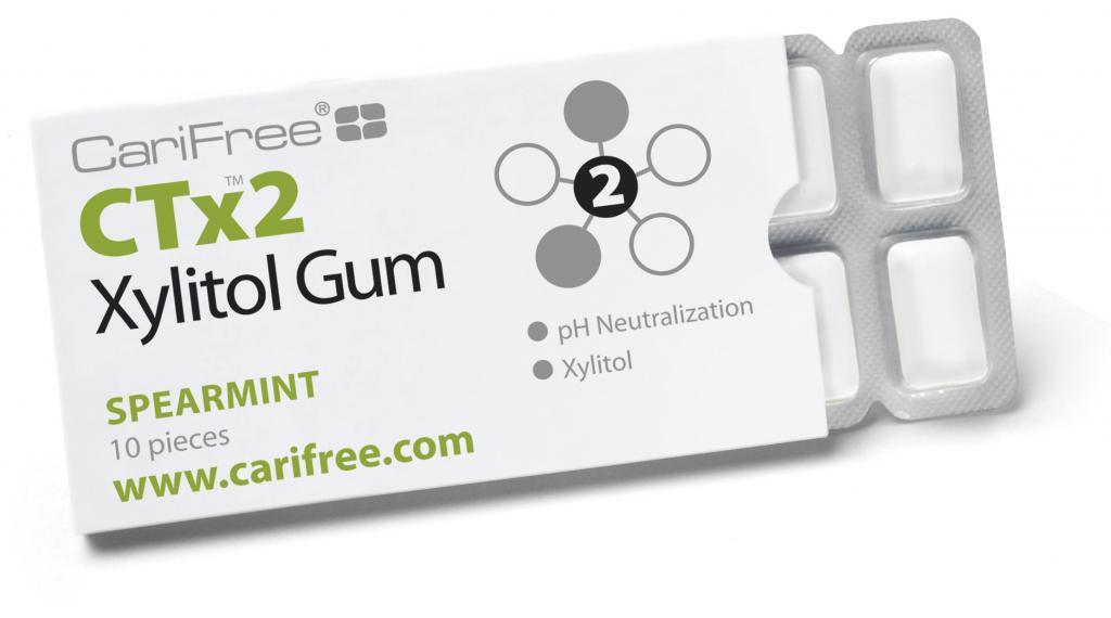 CariFree CTx2 Xylitol Gum product photo