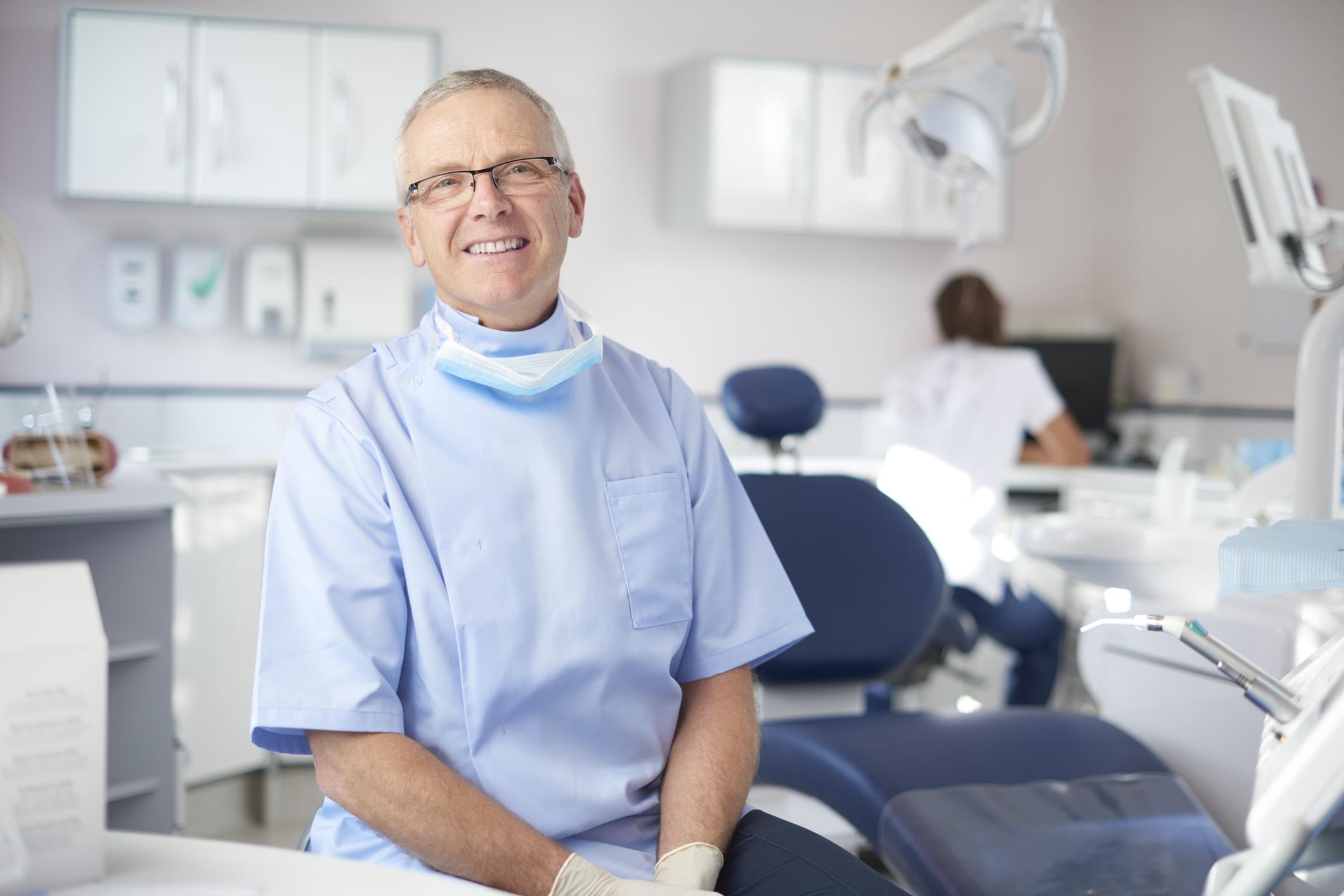 Photo of male dentist